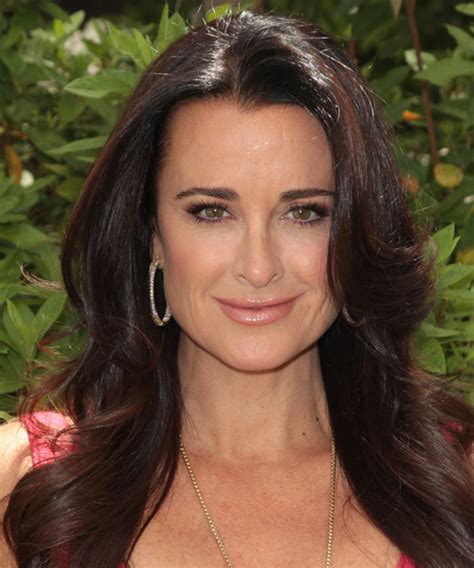 shoulder length straight hairstyles housewife of beverly hill kyle richards hairstyles in 2018