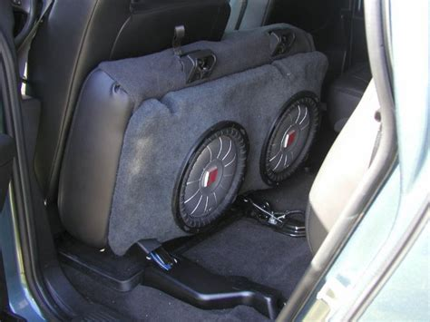 hummer h2 subwoofer box anyone using a 12 inch sub box hummer forums by elcova