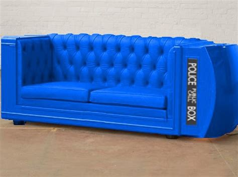doctors couch the world s top 10 amazing tardis inspired furniture