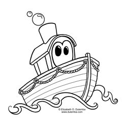 roer roeiboot coloring page tuesday boat