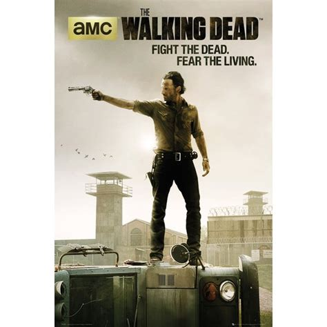 Poster Serial Tv The Walking Dead Cast 2 40x60cm the walking dead tv show poster posters usa