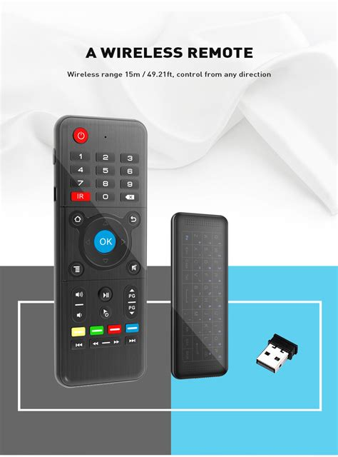 Air Mouse Wireless Keyboard 2 4ghz dropship h1 2 4ghz air mouse wireless keyboard to sell