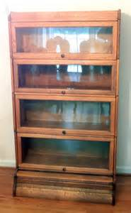 Antique Barrister Bookcase Antique Lawyers Barrister Bookcase Vintage Free Shipping