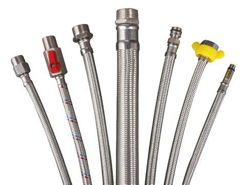Selang Fleksibel Aluminium aluminum braided braiding hose pipe for