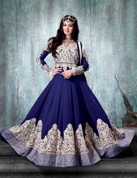India Dressanarkali Dressdress blue ayesha takia designer indian anarkali suit in georgette c15525 eid dresses