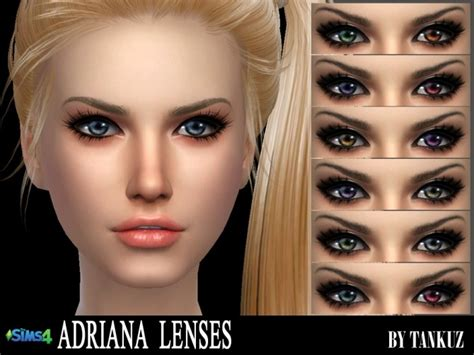 sims 4 cc sclera contact adriana lenses at tankuz sims4 187 sims 4 updates