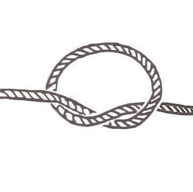 nudos marineros basicos c 243 mo hacer un nudo marinero simple 3 pasos
