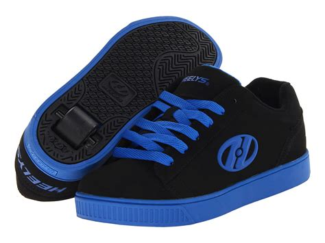 rolling shoes heely s up roller shoe black royal blue