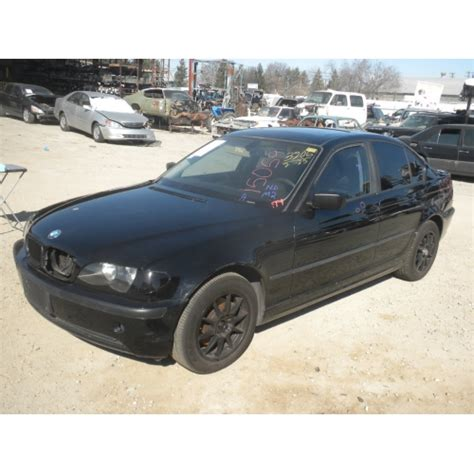 used 2003 bmw 325i parts black with black interior 6