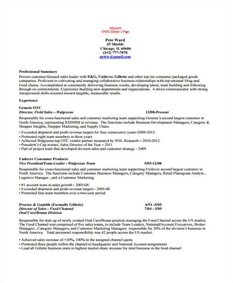 Account Manager Resume by 10 Account Manager Resume Templates Sles Exles