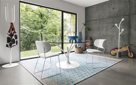 manzano sedie outlet sedia imbottita in pelle m by calligaris design