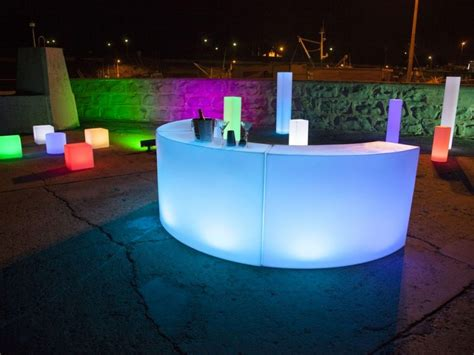 Illuminated Bars by Illuminated Led Bar Hire Adelaide