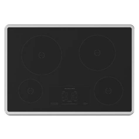 kitchenaid induction range canada kitchenaid architect series ii 31 inch induction cooktop in stainless steel the home depot canada