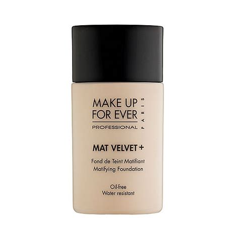 Makeup Forever Mat Velvet by Make Up For Mat Velvet Matifying Foundation 35