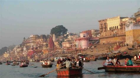The Ganges River by S Voyage Around The World Varanasi