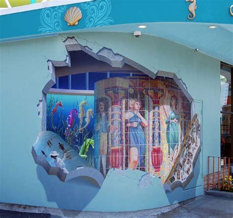 3d mural 3d wall murals are pretty epic john pugh art