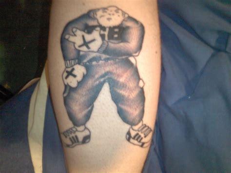 punk tattoo grey ink on arm
