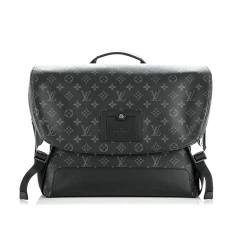 louis vuitton monogram eclipse voyager mm luxity