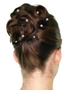 brautfrisur duennes haar