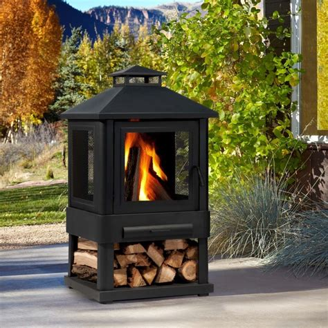 outdoor wood burning fireplaces foter
