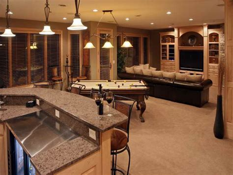 ideas kitchen bar basement room design ideas basement ideas finished basement provided bar kitchen granite