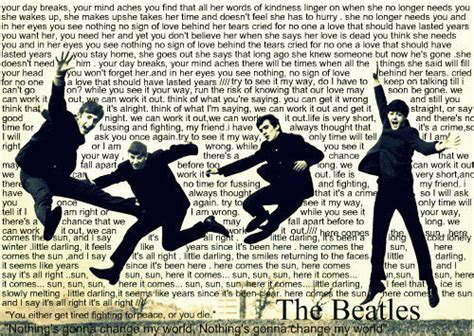 Famous Beatles Lyrics Quotes Love