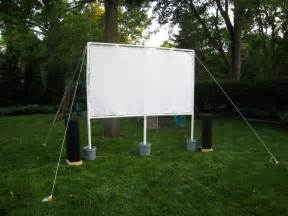 lights cameras insect repellent how to build your own outdoor movie theater wired