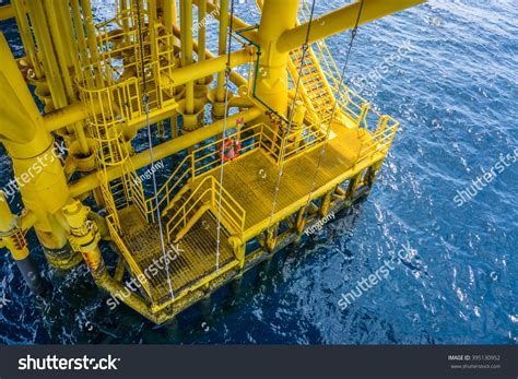 swing rope offshore royalty free swing rope on boat landing on oil and