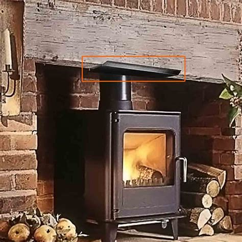 Fireplace Heat Deflector by Fireplace Mantle Heat Deflector Shield 28 Images