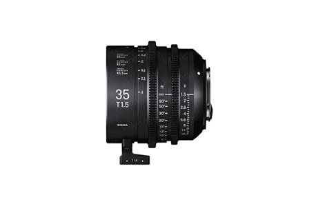 Sigma 24mm T1 5 Ff High Speed Prime Ef Mount sigma ff high speed prime line 35 mm t1 5 ef data