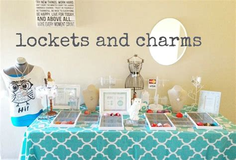 origami owl jewelry bar setup this display is on a 6 ft folding table and fitting for