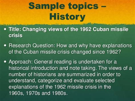 Cuban Missile Crisis Research Paper Questions by Les Miserables Essay