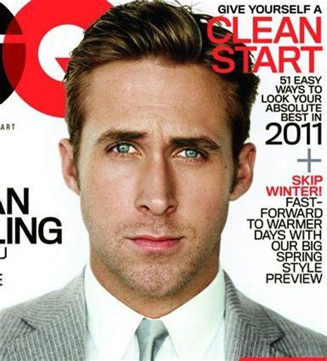 ryan gosling gq hairstyle pinterest the world s catalog of ideas