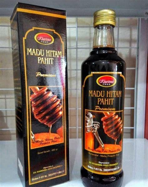 Madu Kalimantan Hitam Pahit 500g manfaat madu hitam pahit ar rohmah untuk wajah toko herbal