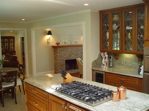 kitchen islands with cooktops cook tops in kitchen islands design build planners