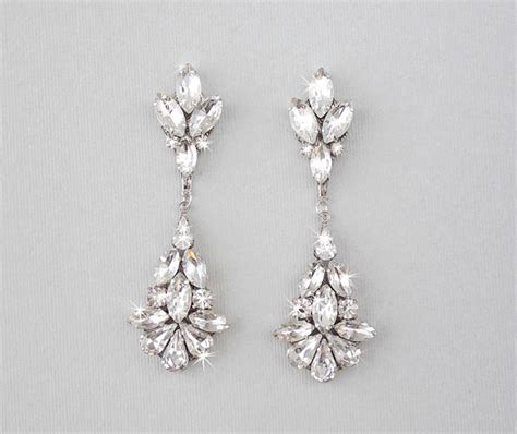 Ohrringe Hochzeit Vintage by Wedding Earrings Chandelier Bridal Earrings Vintage