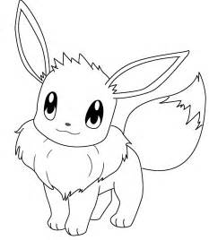 Eevee Coloring Page  Free Pages On Masivy World sketch template
