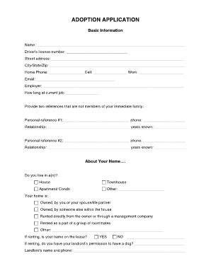 printable animal adoption forms america adoption documents fill online printable