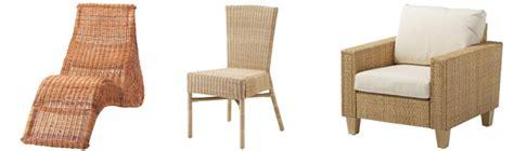 sedie rattan ikea come scegliere le sedie etniche in legno vimini rattan