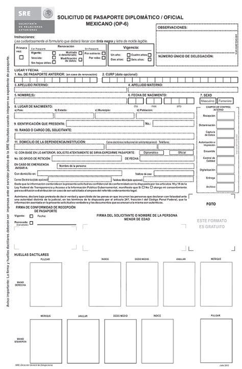 formato para pago de pasaporte 2017 formato de pasaporte c 211 mo tramitar un pasaporte