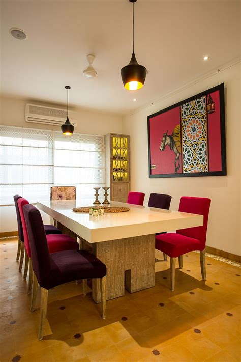 indian heritage interiors meets  age design