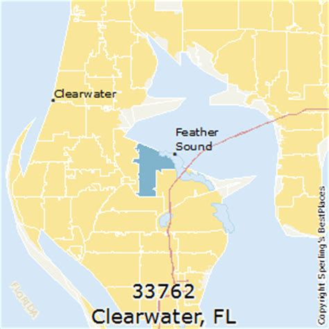 zip code map clearwater fl best places to live in clearwater zip 33762 florida