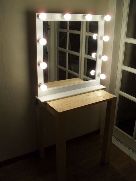 lighted bathroom vanity make up mirror led lighted wall lighting mirror socket 10ea for make up or starlet lighted