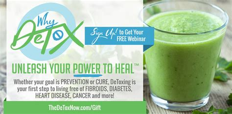 Detox Now Webinar by 02 The Detox Program