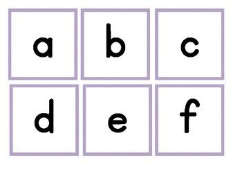 printable alphabet flash cards upper and lower case image gallery lowercase alphabet flashcards