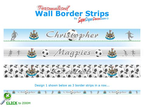 Newcastle United Bedroom Wallpaper by Football Newcastle United Fc Bedroom Wallpaper Border Name