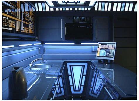Dr Who Bedroom Ideas tony alleyne creates starship enterprise decor in his