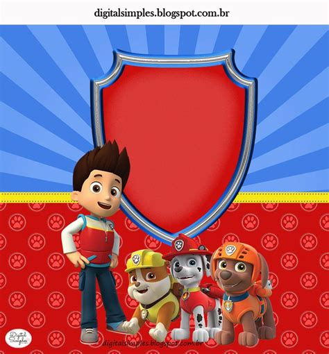 74 best paw patrol images on pinterest paw patrol party