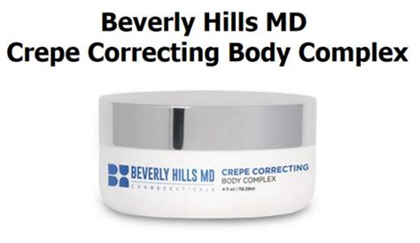Doe Beverly Hills Crepe Correcting Cream Work | correcting cream crepe beverly hills reviews foto bugil