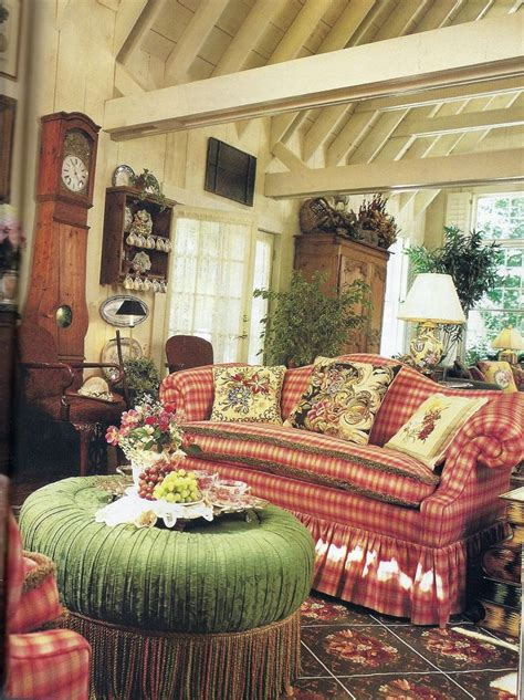 country french style lovely english country style love the silk plaid